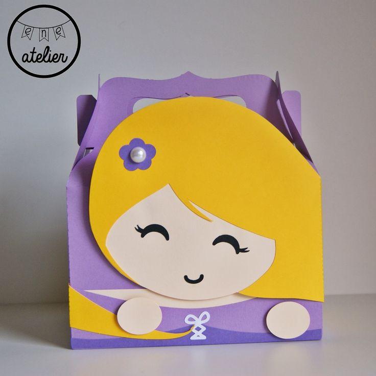 Caja princesa rapunzel