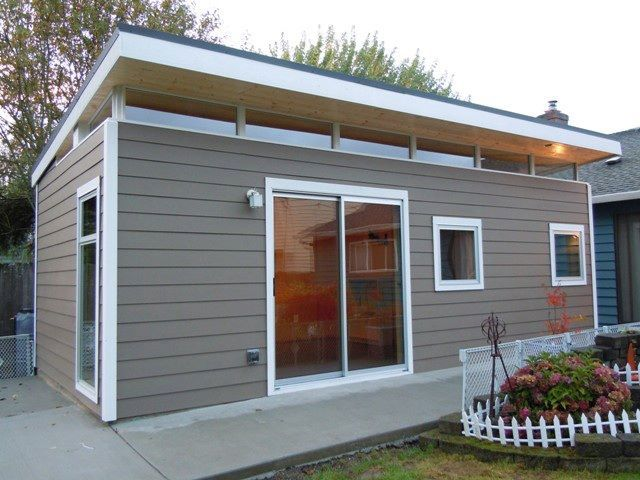 25 best ideas about modern shed on pinterest garden for Small modern shed