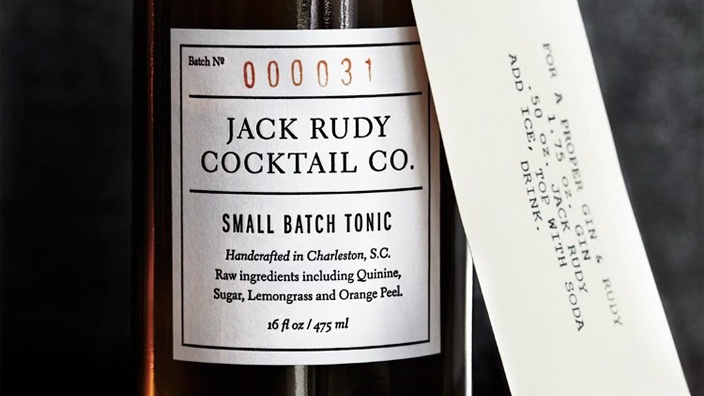Jack Rudy Cocktail Co. Small Batch Tonic (2-Pack) from The Lee Bros. on OpenSky