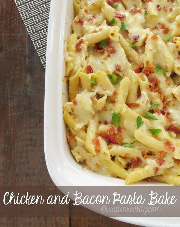 Chicken Bacon Pasta Bake  Easy Recipes for Dinner