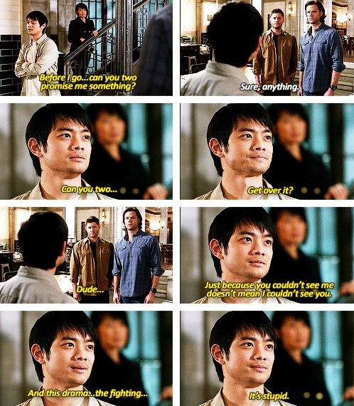 [gifset] 9x14 Captives mini rant: That's three people who told them to knock it off. WHY DON'T THEY LISTEN?