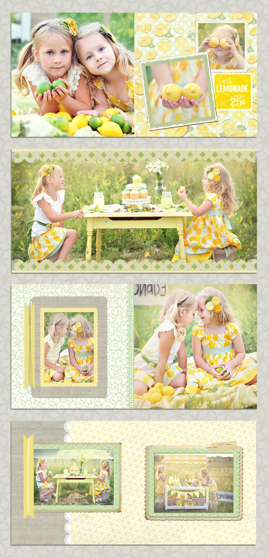 summer photo session ideas  Lemonade Stand