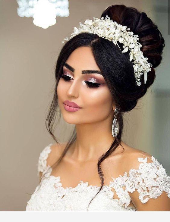 the wedding is near | make up braut, frisur braut