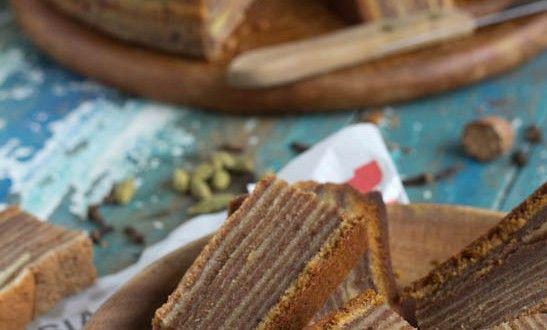 Voor alle Heel-Holland-bakt liefhebbers.... Indonesische spekkoek!