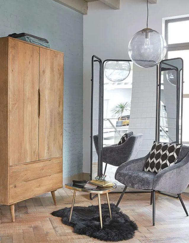 Maisons Du Monde 50 Nouveautes Pour Le Printemps Elle Decoration Canape En Metal Petit Meuble Rangement Decoration Interieure