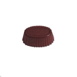 Polycarbonate Chocolate Mold Fluted Oval 37x23mm x 15mm High, 36 Cavities