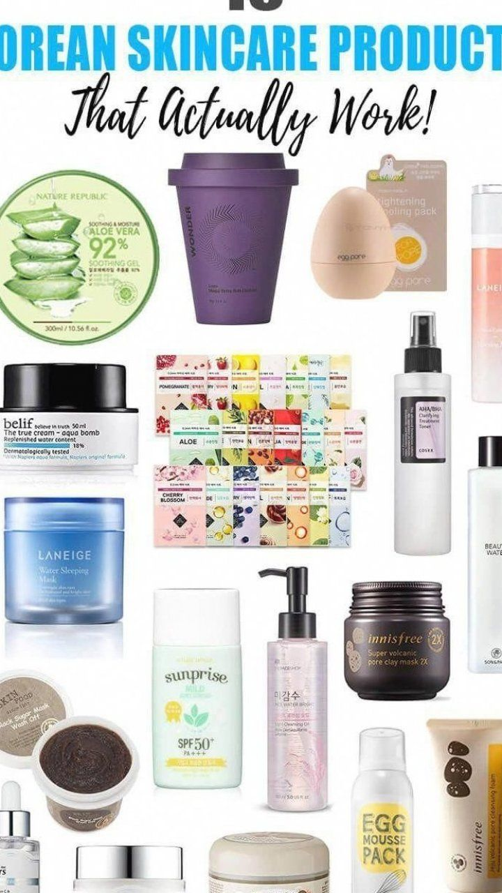 18 Korean Skincare Products That Actually Work The Best Korean Skincare Products You Can Buy On In 2020 Skin Treatments Natural Moisturizer Natural Hair Treatments