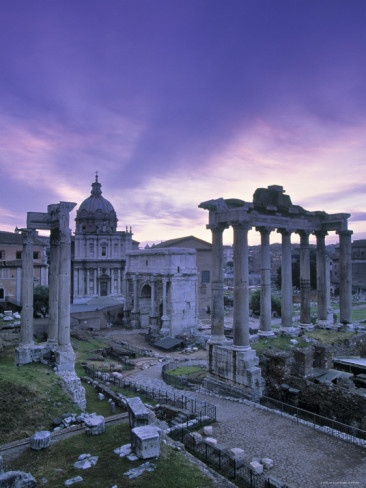 The Forum in Rome.  Layers of history that leave a lot to the imagination.  I love it.