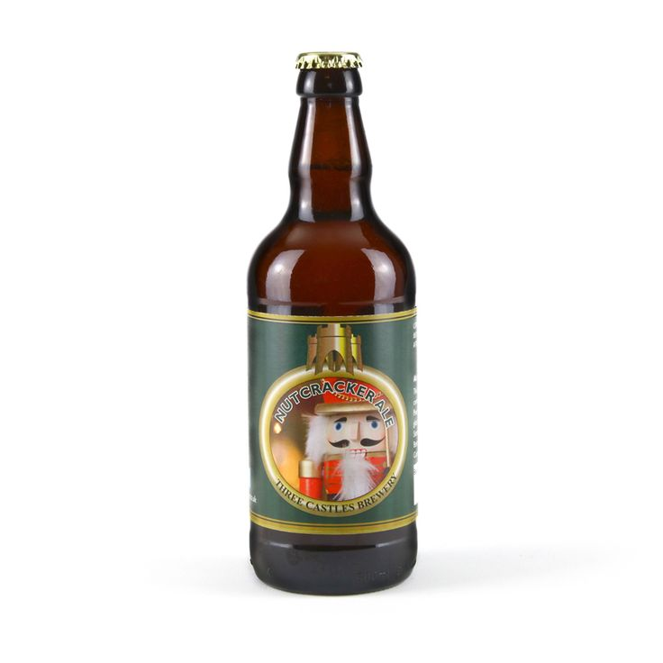 Say cheers to Christmas with this traditional festive real ale from the family-run Three Castles Brewery in Wiltshire. Made from barley grown on the chalk hills around the Salisbury plain, Nutcracker Ale is a delightful drink for any real ale connoisseur. Made exclusively for English Heritage, the copper coloured beer has a festive spicy but nutty flavour with a classic hoppy aftertaste. It makes a great Christmas gift for any beer lover, and is the perfect choice for any Christmas…