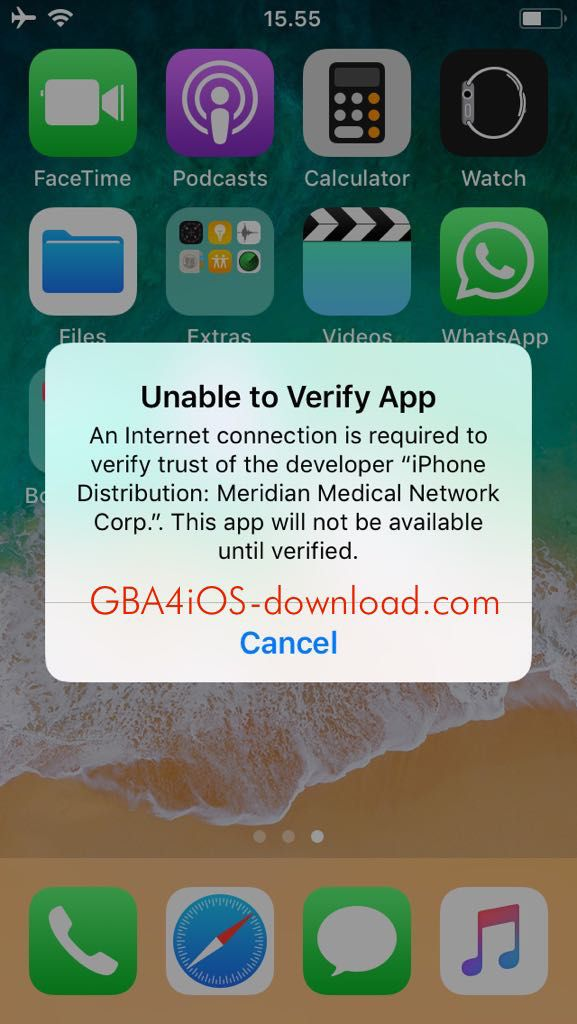 Fix Error Unable to Verify GBA4iOS App | Verify | Verify, App, Best