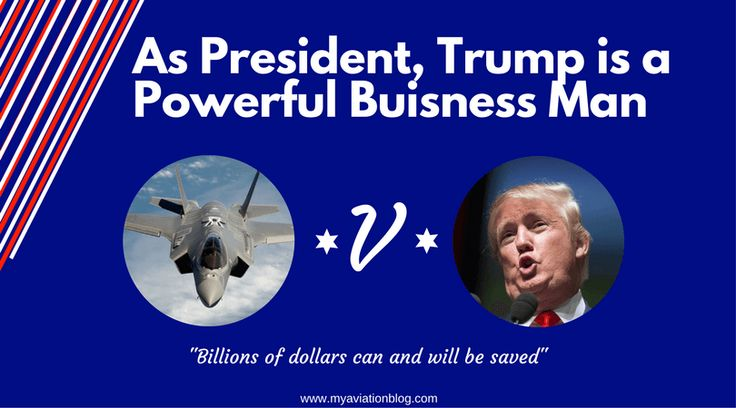As President, Trump is a Powerful Business Man. Trump negotiates a $9 billion F-35 contract in 6 weeks with Lockheed Martin.