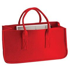 Magazine Holder - Felt Handbag | Paper Products Online