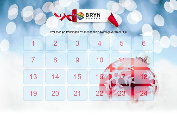 Sjekk ut denne kalenderen Svar på spørsmål og vinn premier