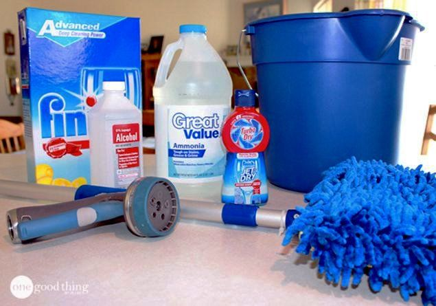 Streak-Free Window Cleaner…No Squeegee Required! | One Good Thing By Jillee | Bloglovin'