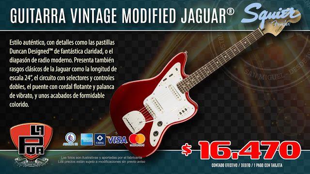 La Púa San Miguel: Guitarra Eléctrica SQUIER VINTAGE MODIFIED JAGUAR®...