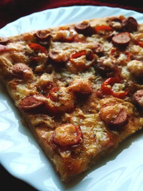 Tvarohova pizza