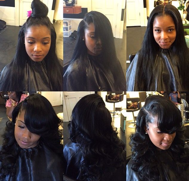 Versatile sew in .. Styled well
