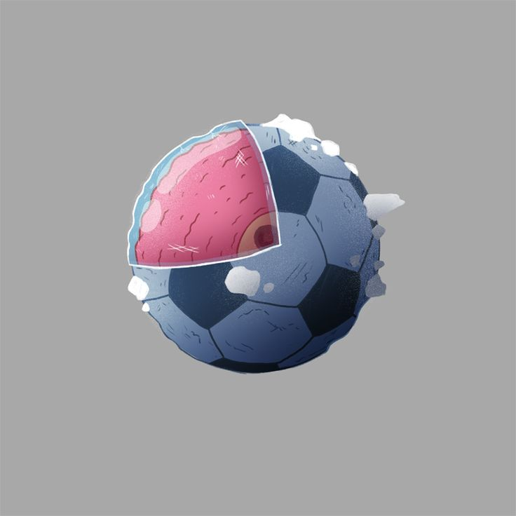 Where Football began. This ancient sphere floats about the galaxy crash landing on planets. Once it does it communicates the rules of Association Football telepathically to the inhabitants of that planet.  Possibly on commission from FIFA.