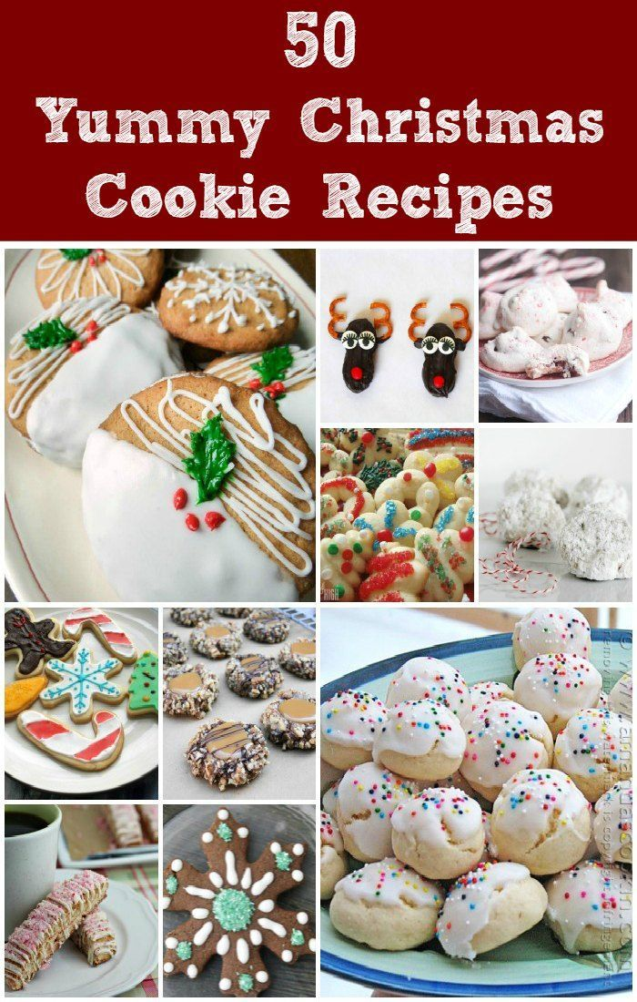 50 Yummy Christmas Cookie Recipes