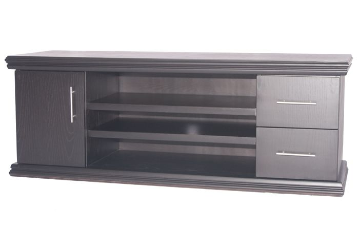 ASBOTES - LE GRANDE TV UNIT Available options: Single Double (As in photo) Dimensions: Single: ± 1500(width) x 500(depth) x 610(height) Double: ± 1800(width) x 500(depth)  x 610(height) On wheels Drawers with Telescopic Runners  www.asbotes.com 021 591 0737