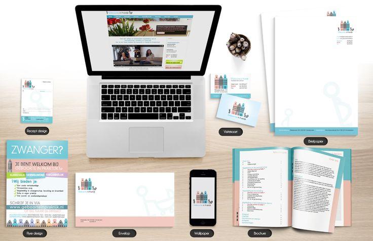 Geboorte in Praktijk is een kleinschalige verloskundigen praktijk in Amsterdam. Voor Geboorte in Praktijk hebben wij het volgende diensten mogen leveren: CMS website, logo design, huisstijl design, boekje, receptenboek ontwerp en flyer ontwerp.