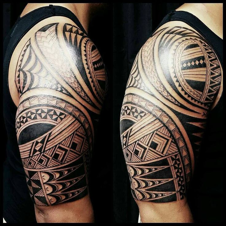 Tongan tattoo by Fred Frost.