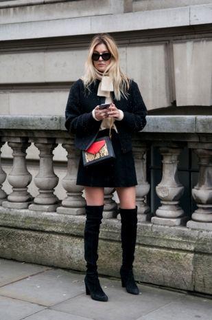 Stivali alti e cuissardes, 30 idee per indossarli dallo streetstyle