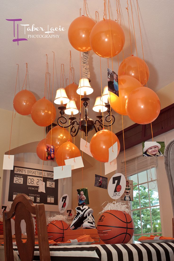 Best 25 basketball birthday parties ideas on pinterest for Basketball craft party ideas