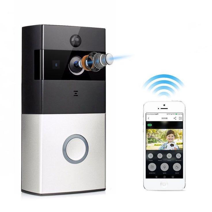 10 Best Smart Doorbell Cameras to Buy in 2017 for Home Security #smarthomecamera