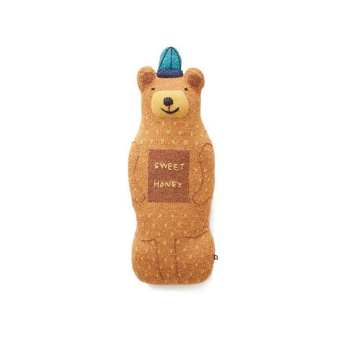 Honey Bear-Ochre/Multi