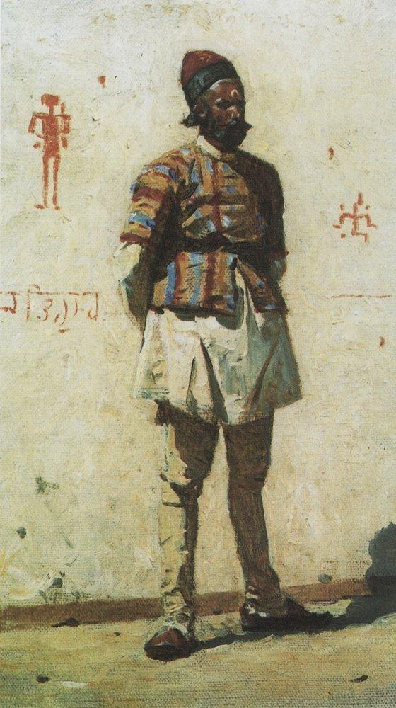 Indian, by Vasily Vereshchagin (1873)
