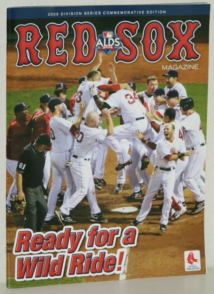 Division Series Edition 2009 RED SOX MAGAZINE Alex