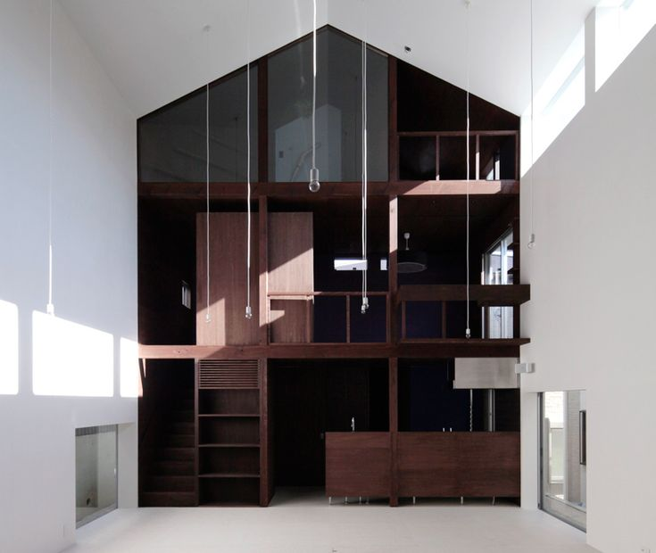 this house look freaking awesome! Like a huge bookshelf.Design Partner, Japan, House Studio, Interiors Design, Wooden House, Empty Lot, Home Design, Architecture, Design Home