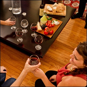 Wine and Italian food: a perfect after-work combination!   http://selectitaly.com/company/team#