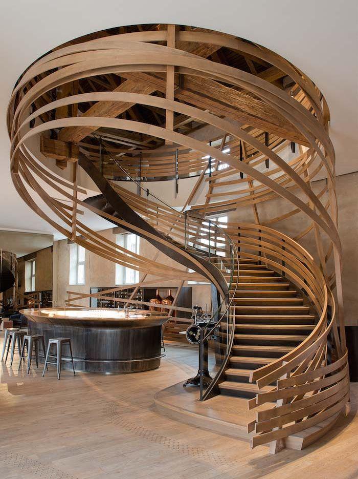 Лестничные завихрения : Фотографии красивых вещей — мебель, интерьеры, архитектура