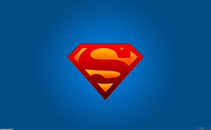 Download Superman Logo 1920x1200 HD Wallpaper