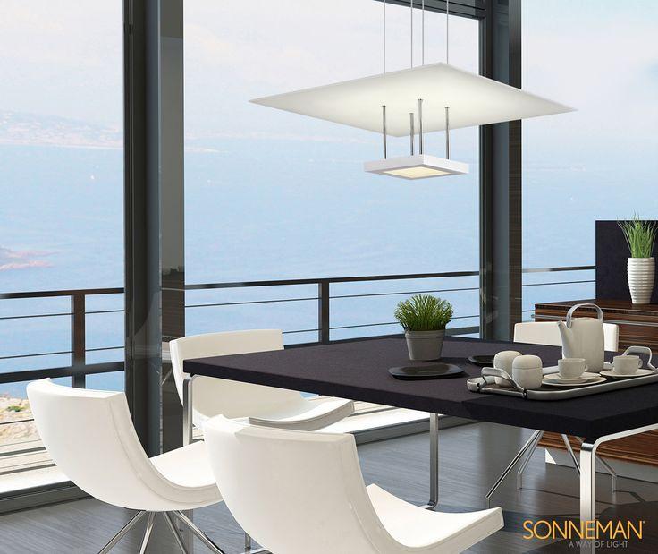 luxury lighting direct sonneman lighting chromaglo collection - Sonneman Lighting