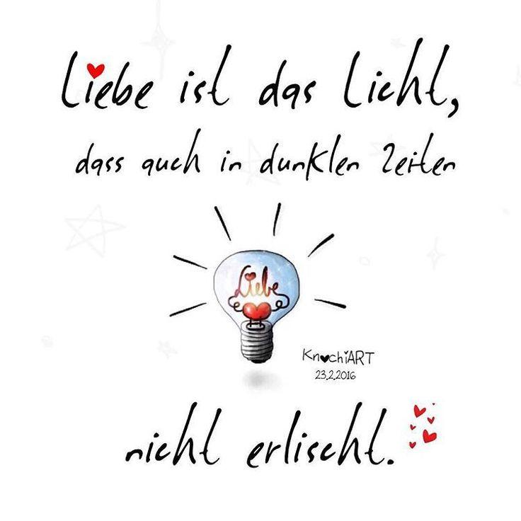 ❤️🕯 #Liebe ist das #Licht ,dass auch in dunklen #Zeiten nicht #erlischt . 😘 #fühlen