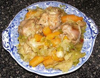 W Mojej Kuchni Lubię.. : szybkowar-golonki indyka z kapustą i marchwią...