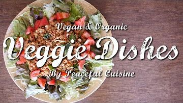 お餅がチーズに!?野菜が美味しいベジタリアンピザの作り方 | Veggie Dishes by Peaceful Cuisine - YouTube