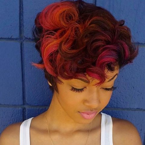 haircut ideas for stylist feature in with this hair color on this 9961