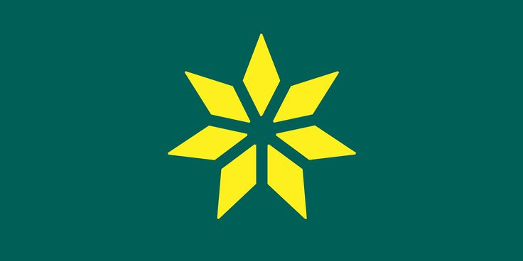 New Australian Flags _ Van Draaku0027s Design. Based On The Golden Wattle Flag.(
