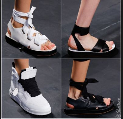 RAG & BONE Spring 2016 Shoes Another sporty footwear collection on this  season's runways. And with possibly the widest ribbon laces of all shoes  from Spring ...