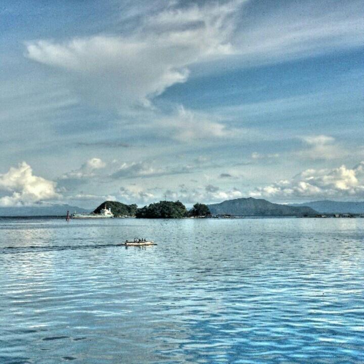 One bright sunny afternoon at Humbold Bay #Jayapura