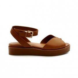 What For - Sandale Petite Cale - cuir - camel (Existent en noir)