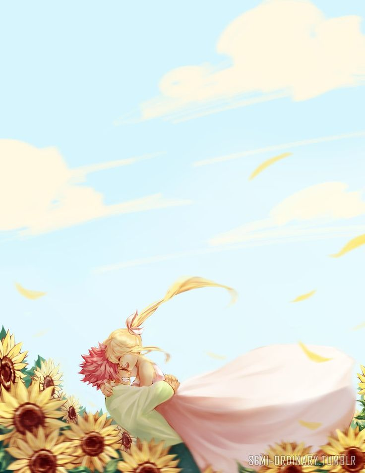 I decided to ulpoad the Nalu Fluff Week entries here as well xD Hope you like it~