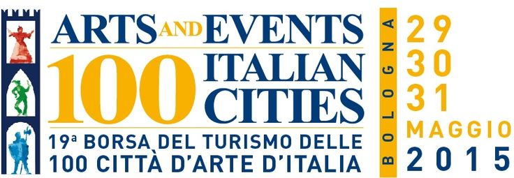 Logo della 19°edizione della Borsa delle 100 Città d'Arte