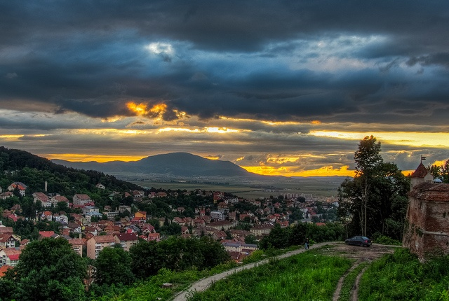 Brasov -view from the old fort