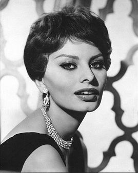 Sophia Loren - She wore many hairstyles in her life but as she aged she wore her hair down & longer.  Wearing your hair up ages you.