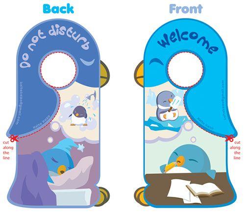 34 best Customized Door Hangers images on Pinterest Door hangers - door hanger design template